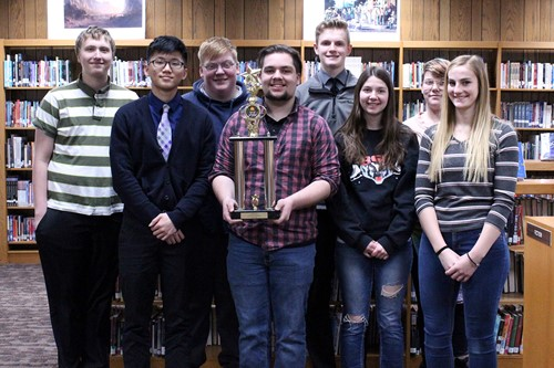 CHS Quiz Bowl Team Takes 2nd Place At Regional Tournament