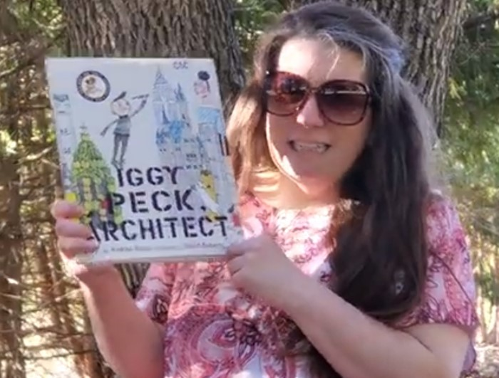 "CSD Storytime- Jessica Blue reads ""Iggy Peck Architect"" By Andrea Beaty & David Roberts"