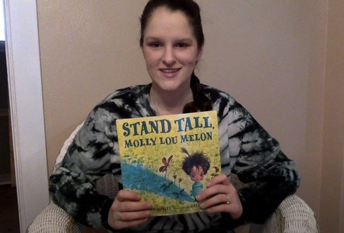 "CSD Storytime- Hope Howard reads ""Stand Tall, Molly Lou Melon"" By Patty Lovell & David Catrow"