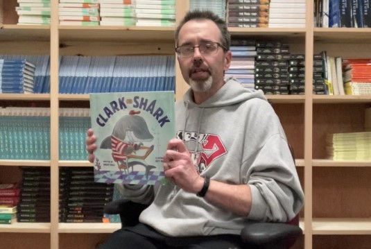 "CSD Storytime - Mr. Chad reads ""Clark The Shark"" by Bruce Hale & Guy Francis"