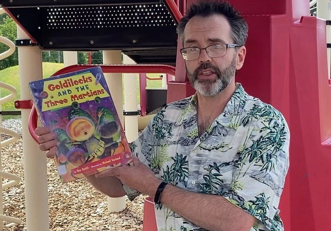 "CSD Storytime: Mr. Chad Reads ""Goldilocks And The Three Martians"" By Stu Smith & Michael Garland"