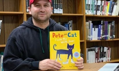 CSD Storytime: Pete The Cat: I Love My White Shoes By Eric Litwin & James Dean