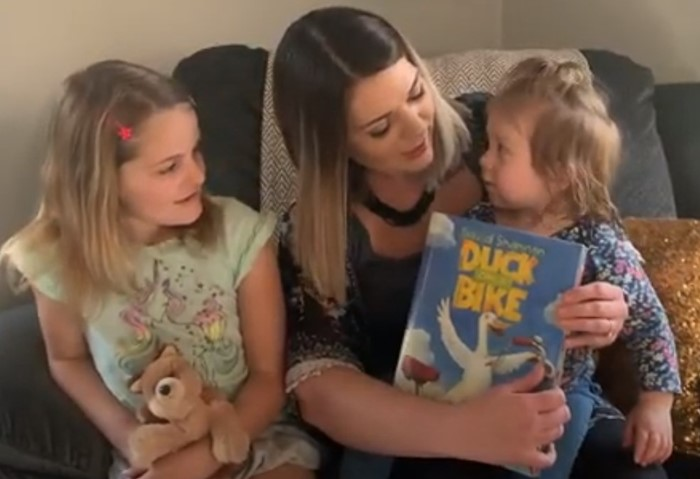 "CSD Storytime- Mrs. Anastasia Stueber reads ""Duck on a Bike"" By David Shannon"