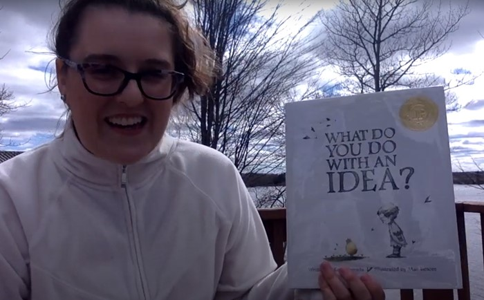 "CSD Storytime- Angelina Tutland reads ""What Do You Do With An Idea?"" By Kobi Yamada & Mae Besom"