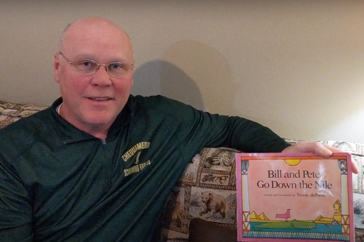 "CSD Storytime- Mark Weddig reads ""Bill and Pete Go Down the Nile"" By Tomie dePaola"