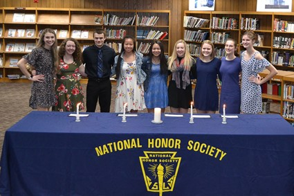 Chequamegon NHS 2019-2020 inductees