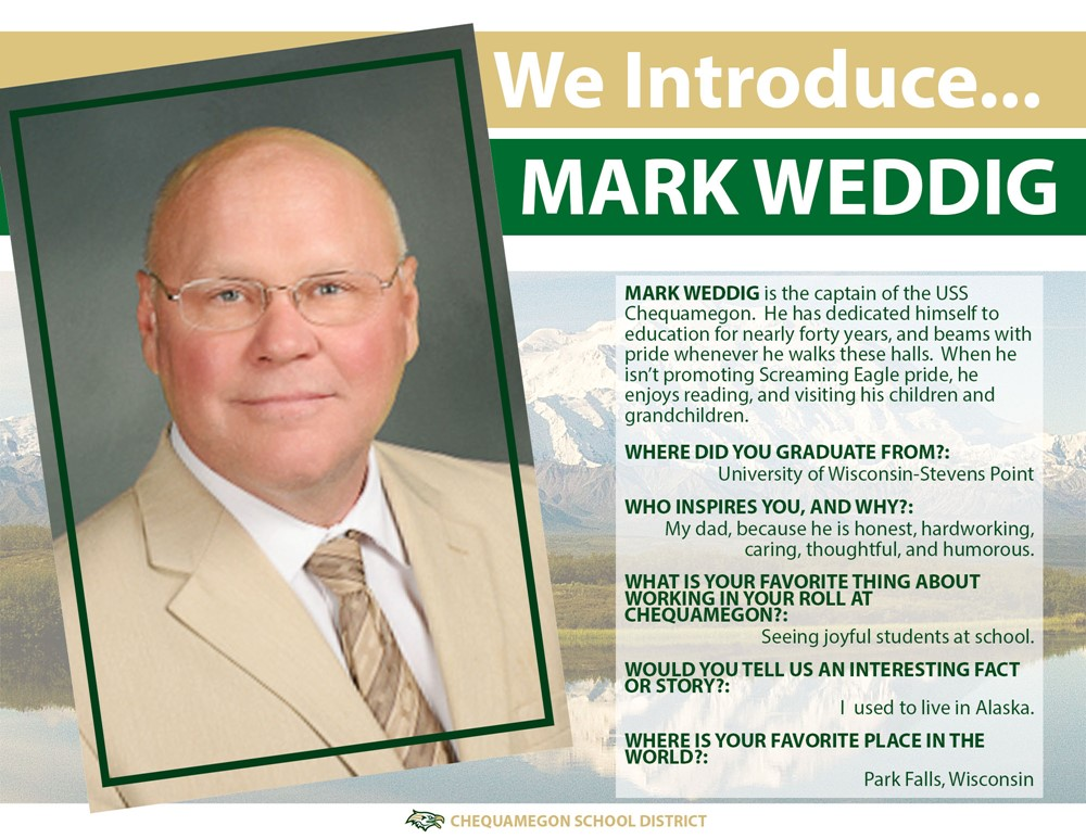 We Introduce - Mark WEddig
