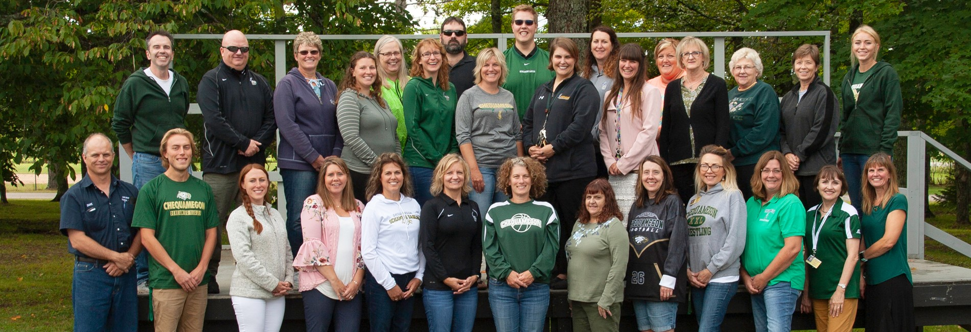 Chequamegon North Staff
